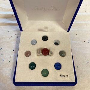Legend Bead Interchangeable Ring. Size 7